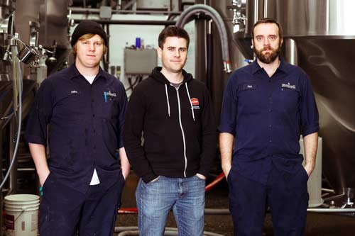 The brewday crew